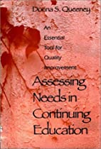 Assessing Needs in Continuing Education: An…