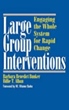 Large Group Interventions: Engaging the…