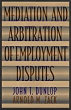 Mediation and Arbitration of Employment…