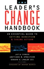 The Leader's Change Handbook: An…