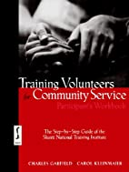 Training Volunteers for Community Service,…