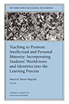 Teaching to Promote Intellectual and…