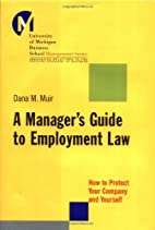 A Manager's Guide to Employment Law: How to…