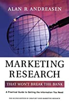 Marketing Research That Wont Break the Bank:…