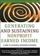 Generating and Sustaining Nonprofit Earned…