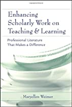 Enhancing Scholarly Work on Teaching and…
