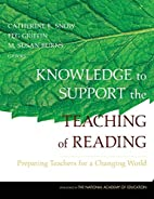 Knowledge to Support the Teaching of…