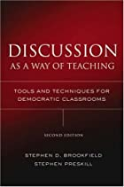Discussion as a Way of Teaching: Tools and…