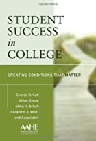 Student Success in College: Creating&hellip;
