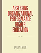 Assessing Organizational Performance in…