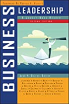 Business Leadership: A Jossey-Bass Reader by…