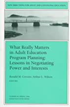 What Really Matters in Adult Education…