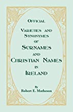 Official Varieties and Synonymes of Surnames…