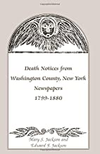 Death notices from Washington County, New…
