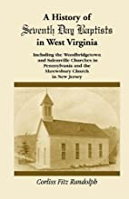 A History of Seventh Day Baptists in West…
