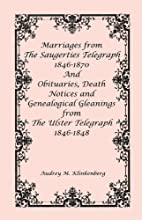 Marriages from The Saugerties Telegraph,…