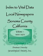 Index to vital data in local newspapers of…