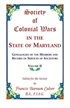 Society of Colonial Wars in the State of…