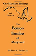 Our Maryland Heritage, Book Thirty-Five:…