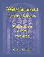 Welschneureut Church Records, Welschneureut,…