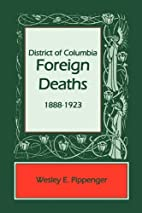 District of Columbia Foreign Deaths,…