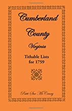 Cumberland County, Virginia Tithable Lists…