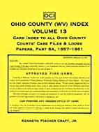 Ohio County (WV) index : index to county…