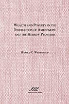 Wealth and Poverty in the Instruction of…