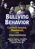 Bullying Behavior: Current Issues, Research,…