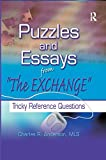 "Anderson, Charles R.: Puzzles and Essays from ""the Exchange"": Tricky Reference Questions"