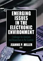 Emerging Issues In The Electronic…