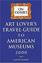 Art Lover's Travel Guide to American…