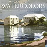 Museum of Fine Arts, Boston: Watercolors: 2009 Wall Calendar