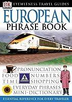 European Phrase Book (Eyewitness Travel…