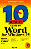 Aitken, Peter G.: 10 Minute Guide to Word for Windows 95