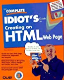 McFedries, Paul: The Complete Idiot&#39;s Guide to Creating an Html Web Page
