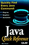 Michael M. Afergan: Java Quick Reference
