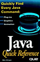 Java Quick Reference by Michael M. Afergan