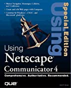 Special Edition Using Netscape Communicator…