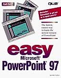 Fulton, Jennifer: Easy Powerpoint 97