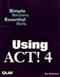 Anderson, Ken: Using Act! 4