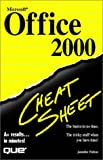 Fulton, Jennifer: Microsoft Office 2000 Cheat Sheet