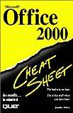 Fulton, Jennifer: Microsoft Office 2000 Cheat Sheet