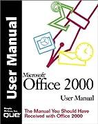 Microsoft Office 2000 User Manual (Que…