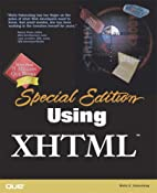 Special Edition Using XHTML by Molly E.…