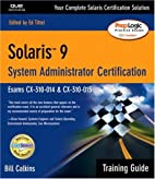 Solaris 9 System Administration Training…