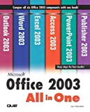 Habraken, Joe: Microsoft Office 2003 All-In-One