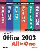 Microsoft Office 2003 All-in-One by Joe…