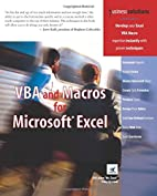 VBA and Macros for Microsoft Excel by Bill…