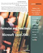 Formulas and Functions with Microsoft Excel…